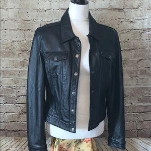 Rampage 100% Leather jacket